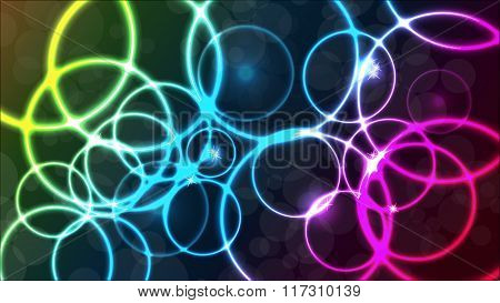 Vector Plasmatic Colorful Background