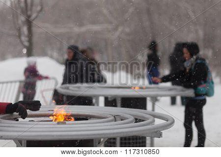 Wood Fire Outdoor