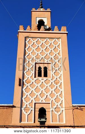 Africa Minaret And The     Sky