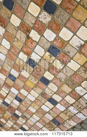 Borghi  Street   Abstract   Pavement Of   Curch And Marble