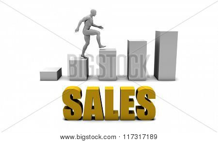 Increase Your Sales  or Business Process as Concept