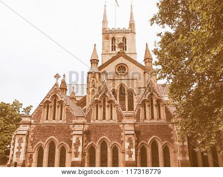 Southwark Cathedral, London Vintage