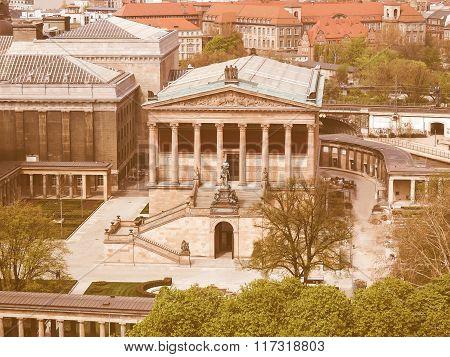 Alte National Galerie Vintage