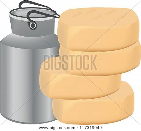 production dairy cheese