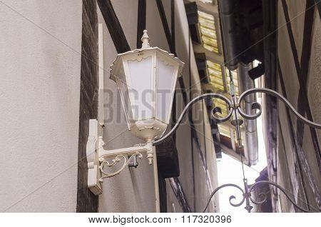 Lantern made antique