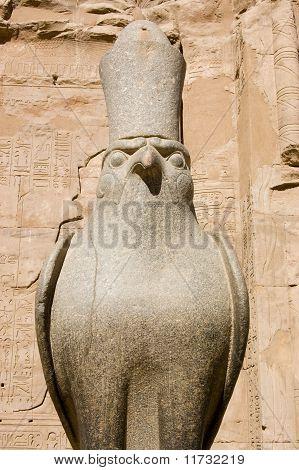 Horus face on