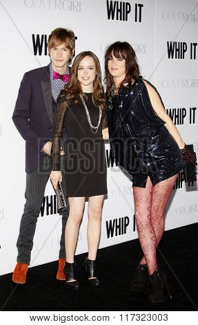 Ellen Page, Juliette Lewis and Drew Barrymore at the Los Angeles Premiere of