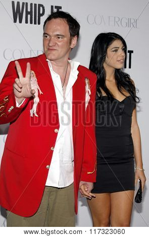 Quentin Tarantino at the Los Angeles Premiere of