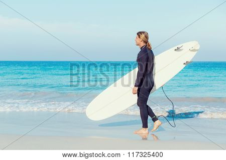 Ready to hit waves