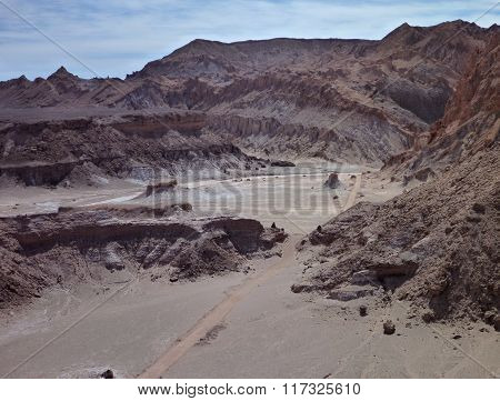 Desert Terrain In San Pedro De Atacama