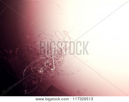 Abstract background element in red, black and white colors