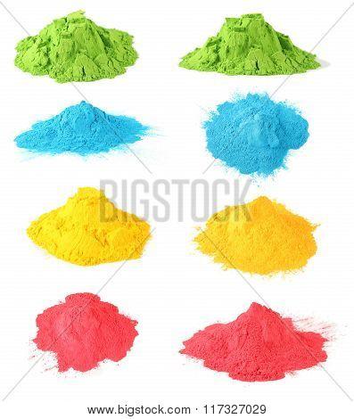 Holi color set