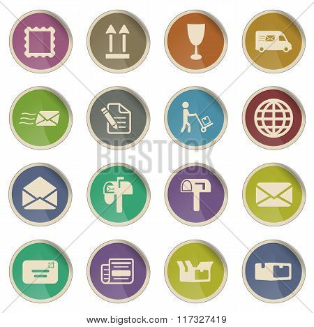 Post service simply icons
