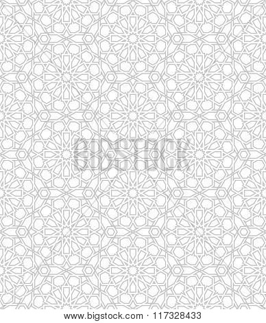 Seamless Pattern With Traditional Ornament