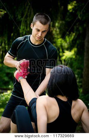 Spasm - when sport hurts