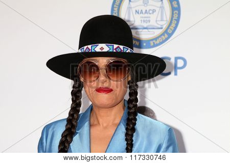 LOS ANGELES - FEB 5:  Cree Summer at the 47TH NAACP Image Awards Arrivals at the Pasadena Civic Auditorium on February 5, 2016 in Pasadena, CA