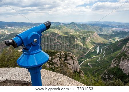 Tower Viewer In Montserrat