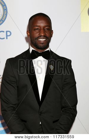 LOS ANGELES - FEB 5:  Elijah Kelley at the 47TH NAACP Image Awards Arrivals at the Pasadena Civic Auditorium on February 5, 2016 in Pasadena, CA
