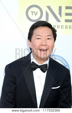 LOS ANGELES - FEB 5:  Ken Jeong at the 47TH NAACP Image Awards Arrivals at the Pasadena Civic Auditorium on February 5, 2016 in Pasadena, CA
