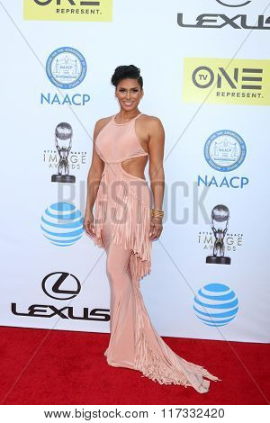 LOS ANGELES - FEB 5:  Laura Govan at the 47TH NAACP Image Awards Arrivals at the Pasadena Civic Auditorium on February 5, 2016 in Pasadena, CA