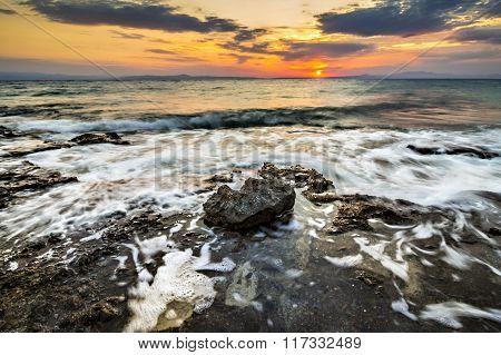 Sky, sea and stone
