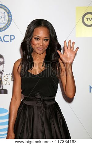 LOS ANGELES - FEB 5:  Robin Givens at the 47TH NAACP Image Awards Arrivals at the Pasadena Civic Auditorium on February 5, 2016 in Pasadena, CA