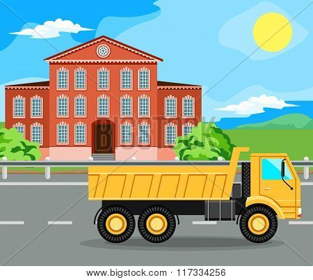 construction machinery and home