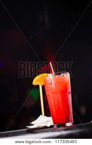 One Red Cocktail