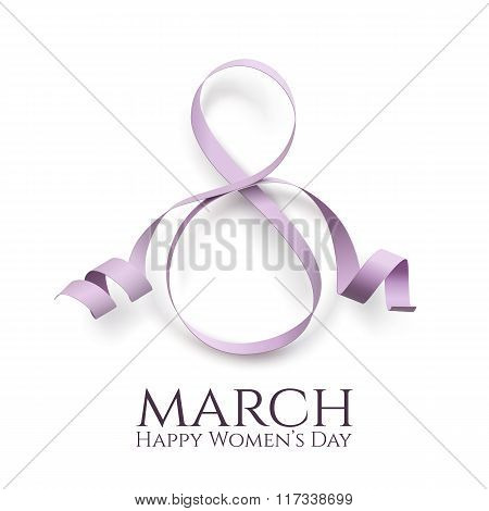 March 8 womens day background.