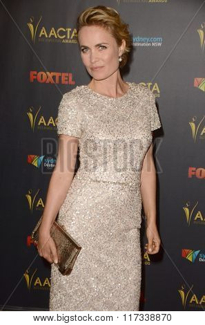 LOS ANGELES - JAN 29:  Radha Mitchell at the 2016 AACTA International Awards at the PETA's Bob Barker Building on January 29, 2016 in Los Angeles, CA