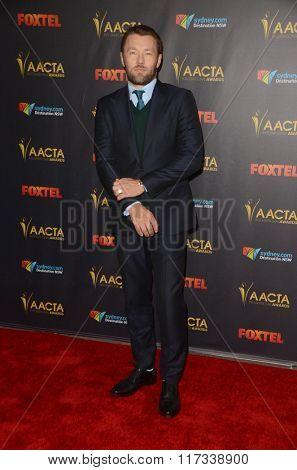 LOS ANGELES - JAN 29:  Joel Edgerton at the 2016 AACTA International Awards at the PETA's Bob Barker Building on January 29, 2016 in Los Angeles, CA