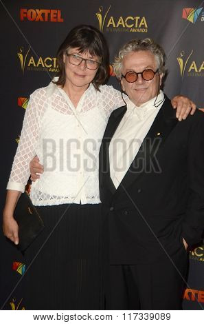 LOS ANGELES - JAN 29:  George Miller at the 2016 AACTA International Awards at the PETA's Bob Barker Building on January 29, 2016 in Los Angeles, CA