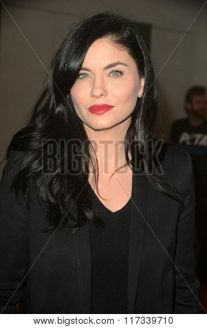 LOS ANGELES - JAN 30:  Jodi Lyn O'Keefe at the PETA Superbowl Party at the PETA's Bob Barker Building on January 30, 2016 in Los Angeles, CA