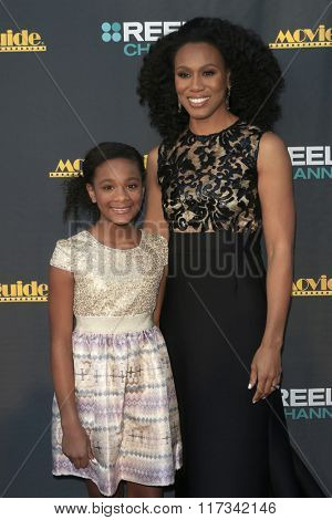LOS ANGELES - FEB 5:  Alena Pitts, Priscilla Shirer at the 24th Annual MovieGuide Awards at the Universal Hilton Hotel on February 5, 2016 in Los Angeles, CA