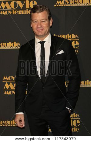 LOS ANGELES - FEB 5:  Nic BIshop at the 24th Annual MovieGuide Awards at the Universal Hilton Hotel on February 5, 2016 in Los Angeles, CA