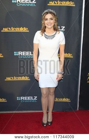 LOS ANGELES - FEB 5:  Jen Lilley at the 24th Annual MovieGuide Awards at the Universal Hilton Hotel on February 5, 2016 in Los Angeles, CA