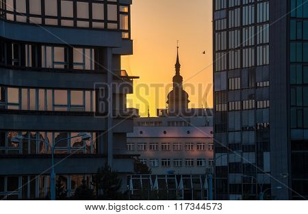 Sunset In Pilsen