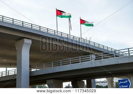 Flags Od Jordan
