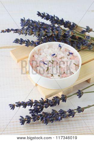 Lavender mineral bath salts