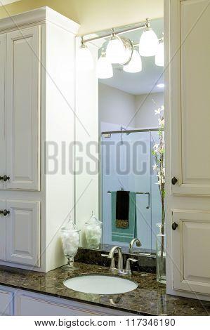 Sink In Modern Granite Countertop