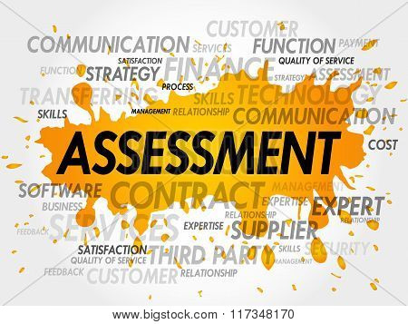 Assessment Word Cloud