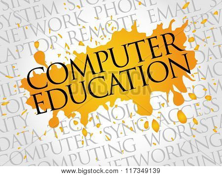 Computer Education Word Cloud