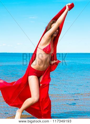 Joy of Holidays Beach Girl