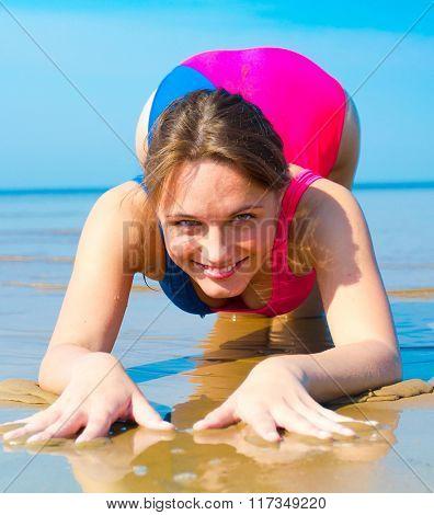 Beach Girl Sunny Beach