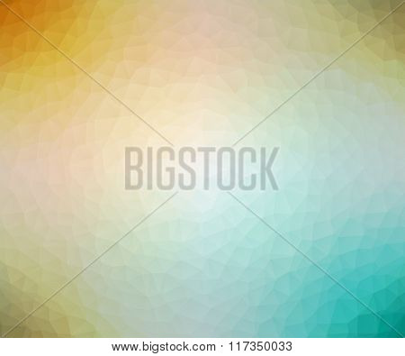 Vector low poly polygonal triangular abstract background