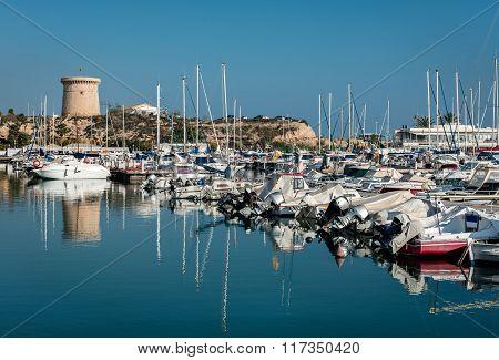 El Campello Harbor. Alicante, Spain