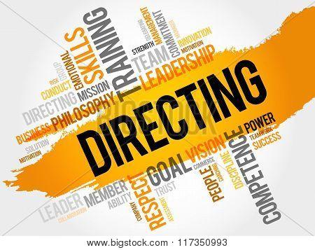 Directing Word Cloud
