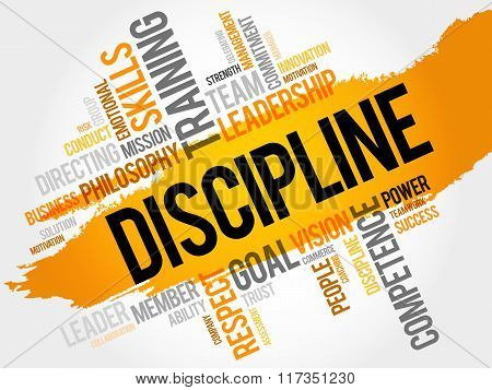 Discipline Word Cloud