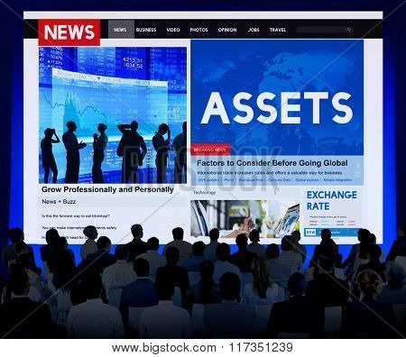Assets Wealth Possession Money Resources Concept