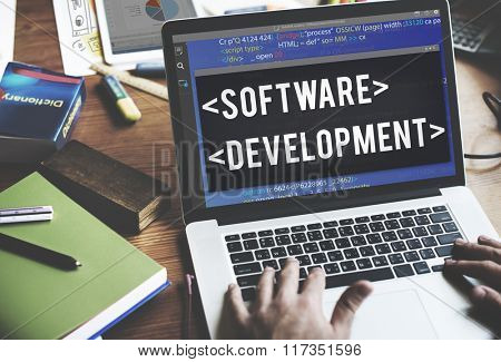 Software Development Programmer Developer Technology Concept